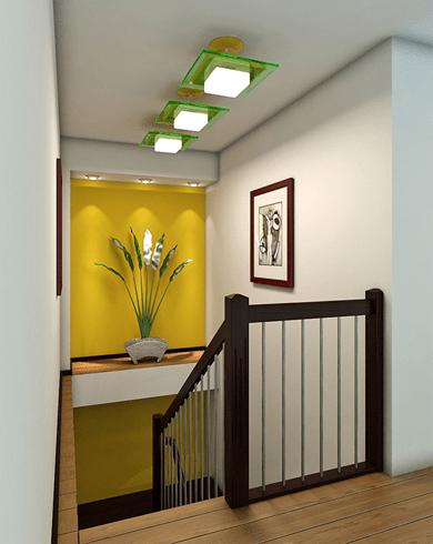 поруні на металокаркасних сходах