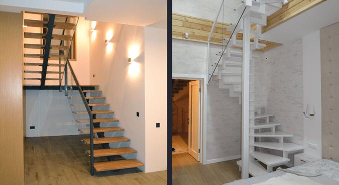 Каркасні сходи: властивості, переваги, класифікація