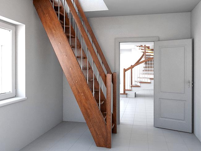 Лестницы на тетиве: выбор, расчет, правила крепления