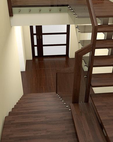 міжповерхові сходи з металу