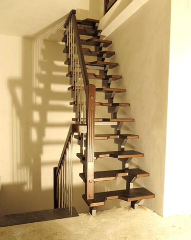 конструкція металевих сходів
