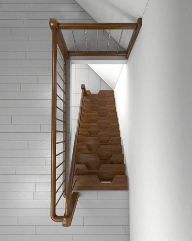 залізні сходи на мансарду